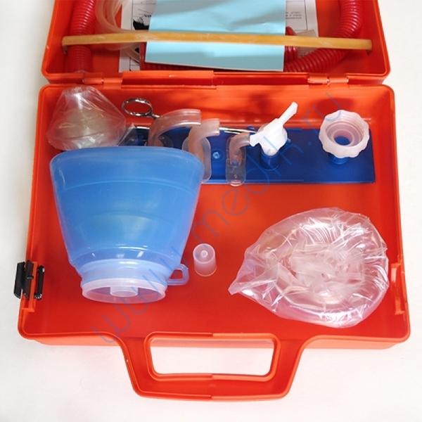 Аппарат дыхательный ручной АДР-1200 для детей взрослых (с принадлежностями)  Вид 2
