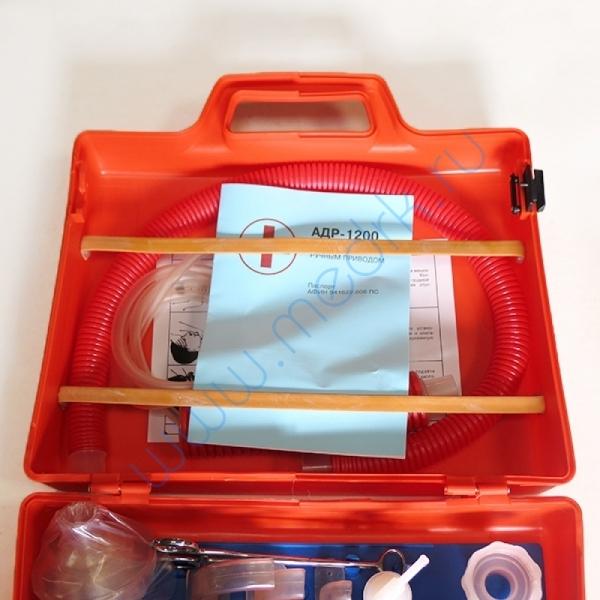 Аппарат дыхательный ручной АДР-1200 для детей взрослых (с принадлежностями)  Вид 3