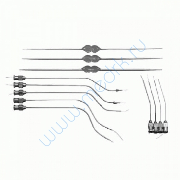 Набор инструментов для исследования и лечения заболеваний протоков слюнных желез Н-169