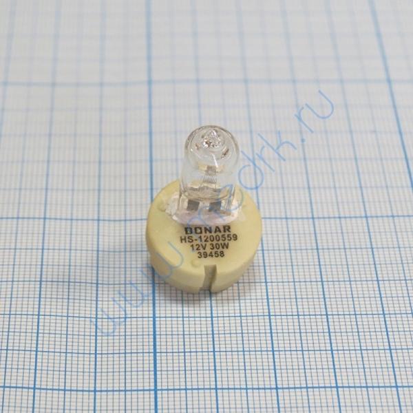 Лампа галогенная (галогеновая) 12В 30Вт 2.5A Haag-Streit BC/BD 900 HS1200559  Вид 4