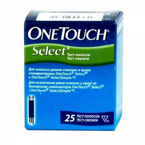 Тест-полоски OneTouch Select №50