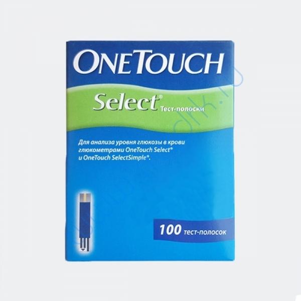Тест-полоски OneTouch Select №100