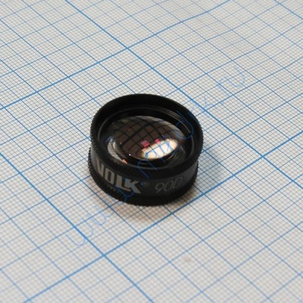 Линза для непрямой офтальмоскопии 90D Volk США  Вид 5