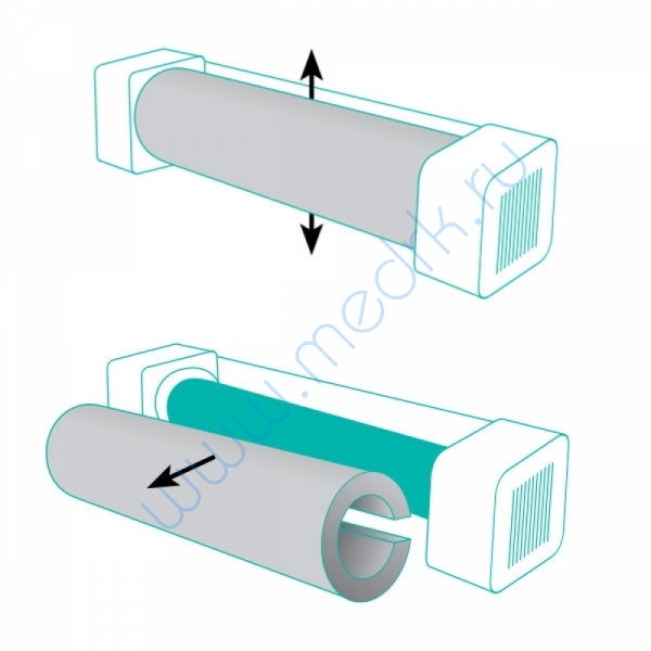 Фильтр пылевой НЕРА  Вид 2