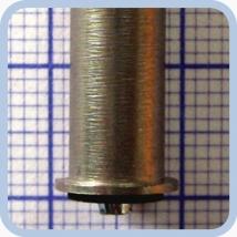 Лампа накаливания МНГ 3,5-2,5 диам. 7 мм