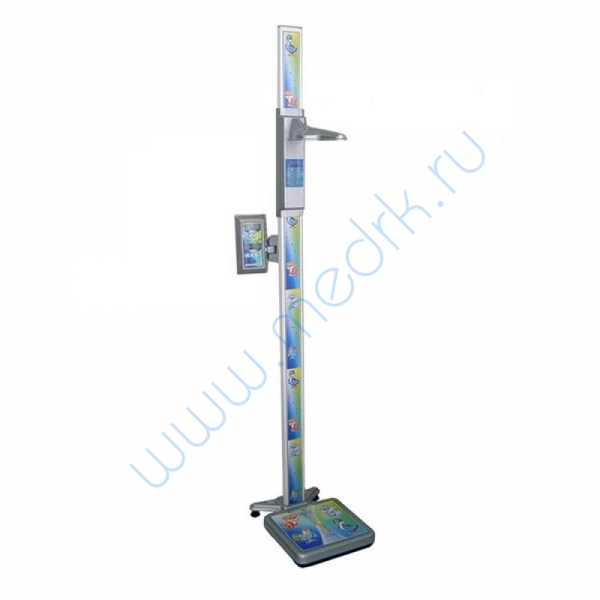 Весы ВМЭН-150С-50/100-СТ-А напольные с ростомером  Вид 1