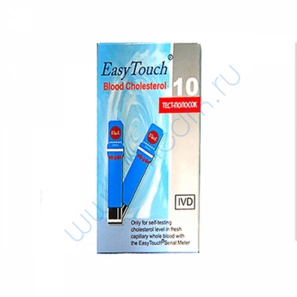 Тест-полоски EasyTouch холестерин №10  Вид 1