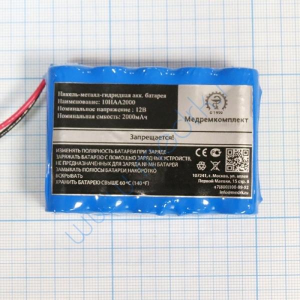 Батарея аккумуляторная 10H-AA2000 для электрокардиографа OSEN ECG-8110 (МРК)  Вид 4