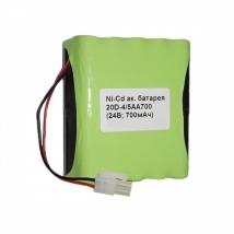 Батарея аккумуляторная 20D-4/5АА700 для ЭКГ DELTA-1 PLUS
