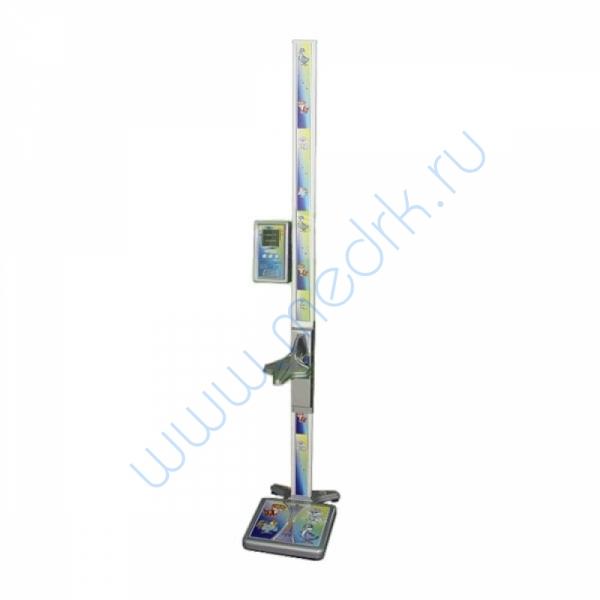 Весы ВМЭН-200С-50/100-СТ-А напольные с ростомером  Вид 1