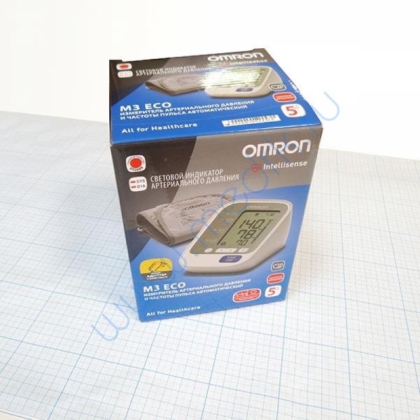 Тонометр автоматический Omron M3 Eco c адаптером  Вид 3