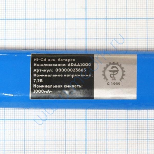 Батарея аккумуляторная 6D-AA1000B для Schiller AT-104, AT-105 (МРК)  Вид 2