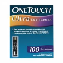 Тест-полоски OneTouch Ultra №100