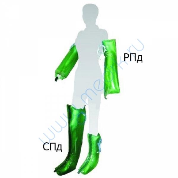 Комплект шин иммобилизационных пневматических КШп-2 (длинные)  Вид 1