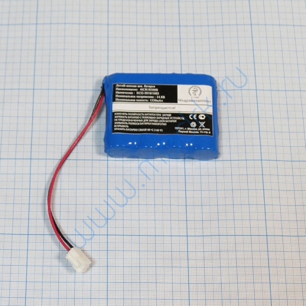 Батарея аккумуляторная 4ICR18500B с ПЗ (МРК)  Вид 1