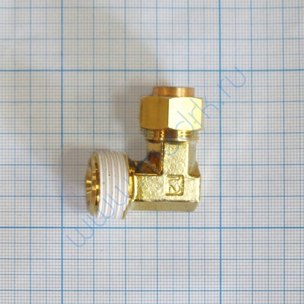 Соединение угловое резьбовое 12R1/2 KFL12B-04S  Вид 2