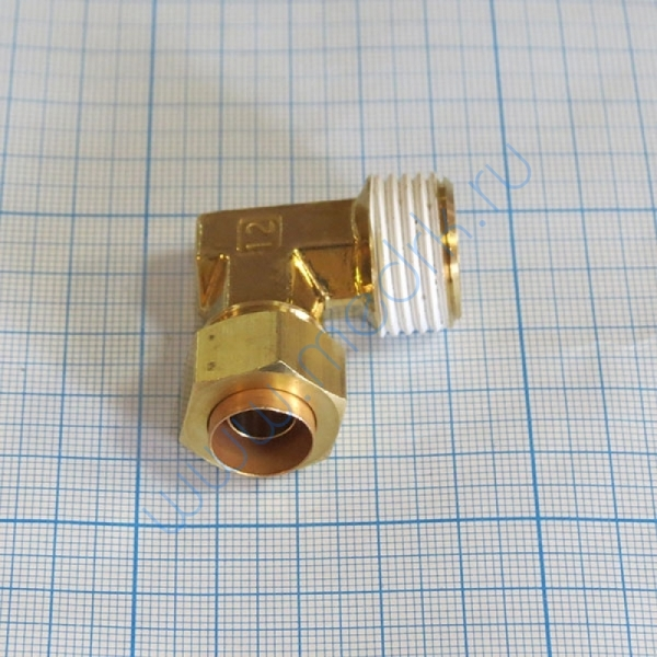 Соединение угловое резьбовое 12R1/2 KFL12B-04S  Вид 3