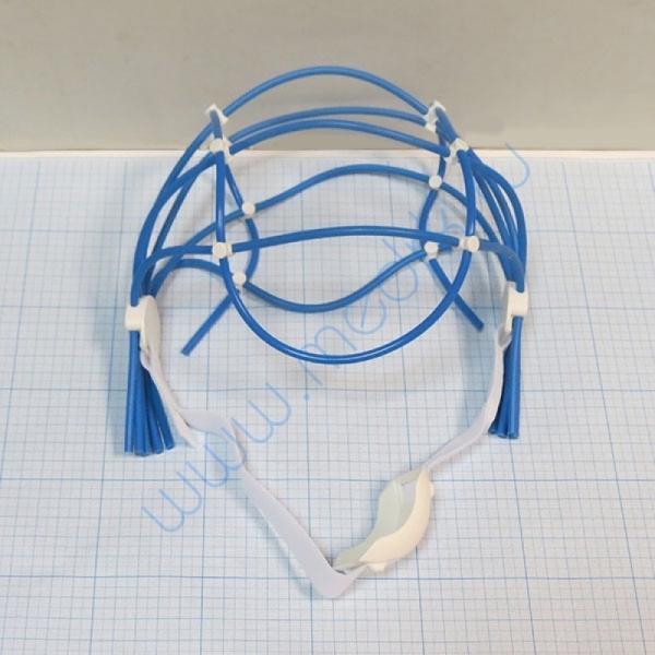 Шлем для крепления электродов ЭЭГ для аппаратов Нейро-Спектр (54-62)  Вид 2