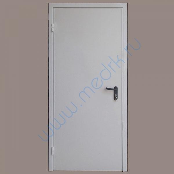 Дверь рентгенозащитная деревянная (ЛДСП) ДР-1 одностворчатая  Вид 1