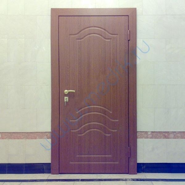 Дверь рентгенозащитная с накладками МДФ  Вид 1