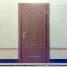 Дверь рентгенозащитная с накладками МДФ