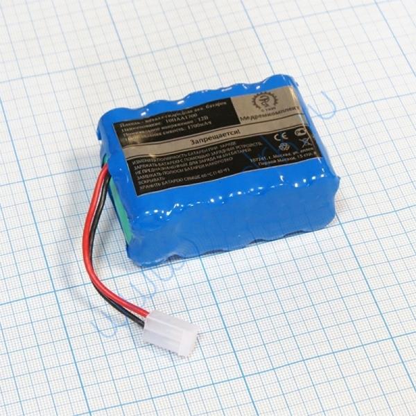 Аккумулятор 10H-AA1700 для ЭКГ Cardioline AR600 ADV/AR1200  Вид 1