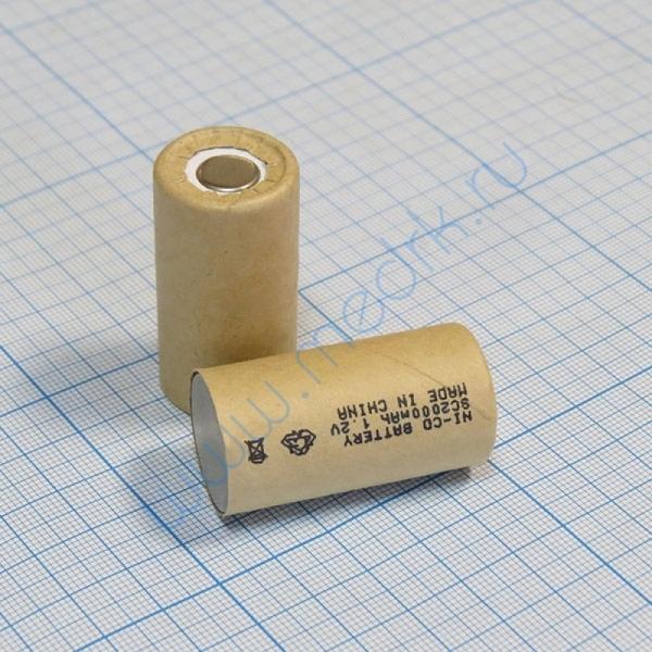 Элемент питания Ni-Cd SC 1,2 В 2000 мАч  Вид 1