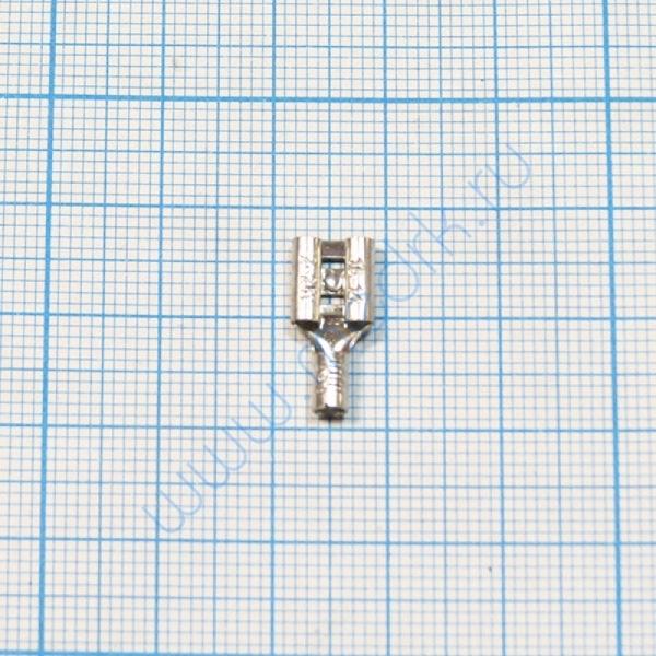 Клемма изолированная плоская 6.3 мм  Вид 2