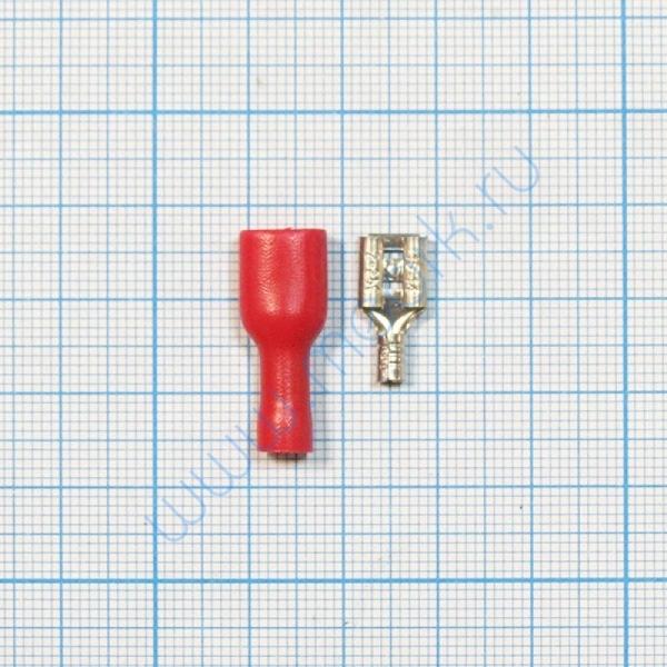 Клемма изолированная плоская 6.3 мм  Вид 1