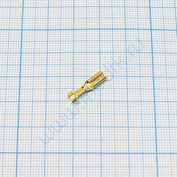 Клемма изолированная плоская 2,8 мм  Вид 2