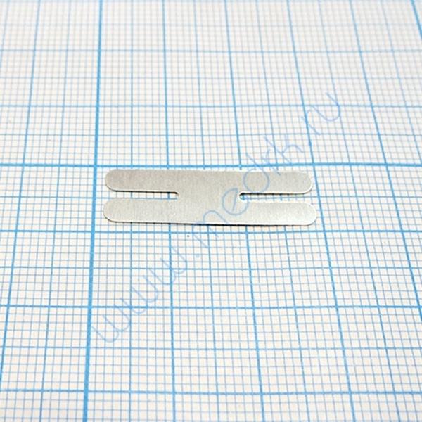 Пластина никелевая Н-образная 0,2х8х28 мм  Вид 2