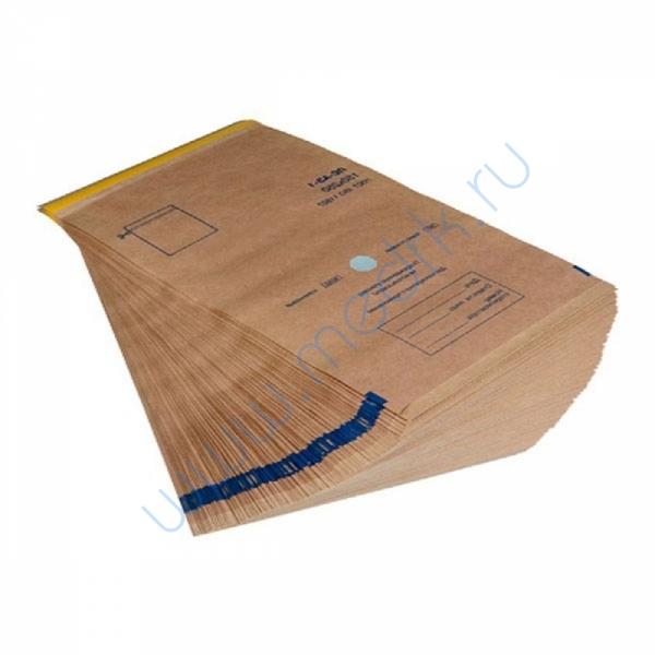 Крафт-пакет для стерилизации 150х280 самоклеящийся с индикатором  Вид 1
