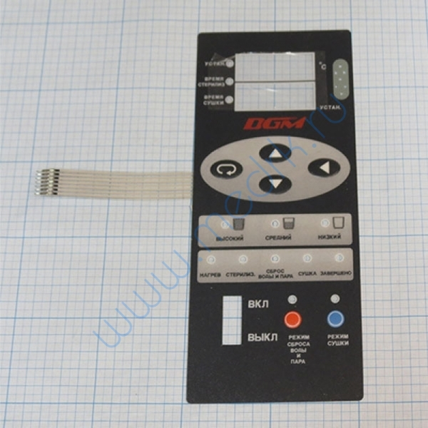 Клавиатура к стерилизатору DGM-300 № 08М199  Вид 1