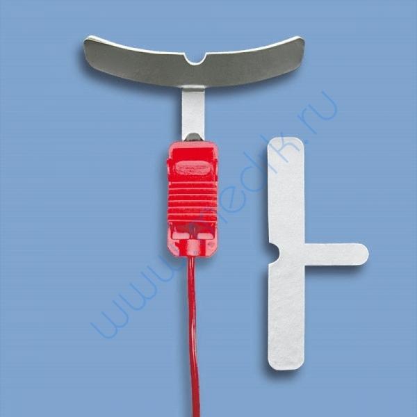 Электрод десенный Т-образный 110х10 мм   Вид 1