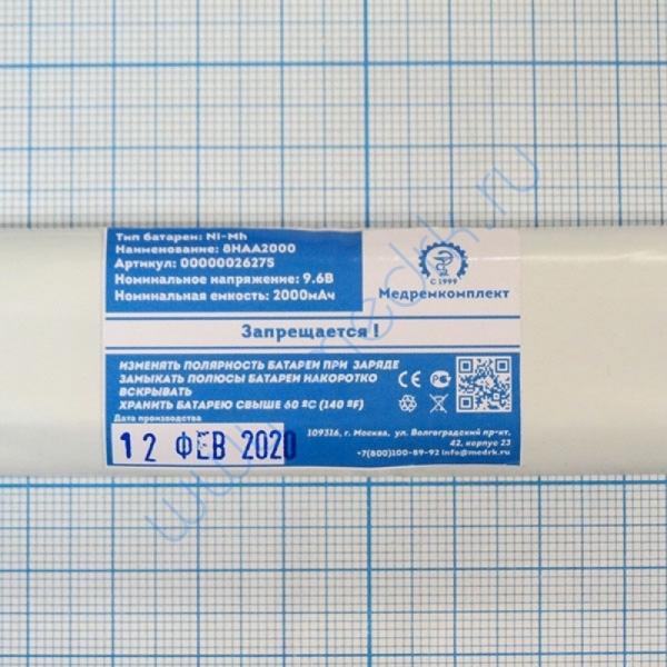 Батарея аккумуляторная 8H-AA2000 NiMH 9,6 В 2000 мАч (МРК)  Вид 4