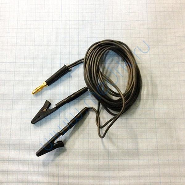Кабель для подключения электродов ВР-112-Ч 2-х контактный катод (-)  Вид 1