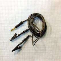 Кабель для подключения электродов ВР-112-Ч 2-х контактный катод (-)