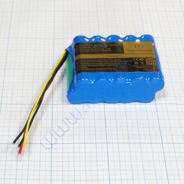 Батарея аккумуляторная 10H-4/3A3800 для ЭКГ Nihon Kohden X062 без разъема (МРК)  Вид 3