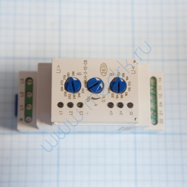 Реле контроля РКН-3-14-08 АС220В УХЛ2  Вид 1