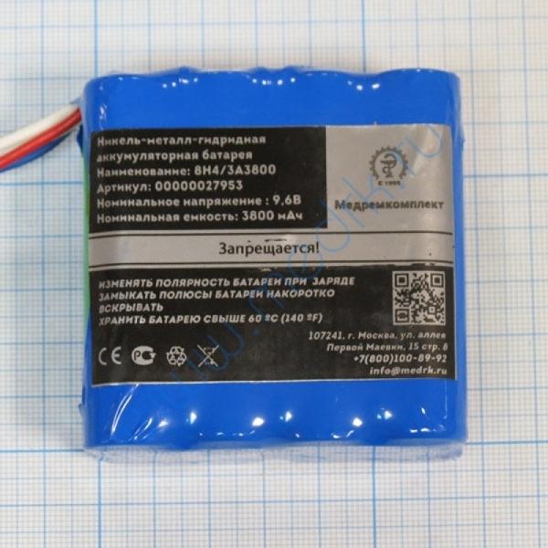 Батарея аккумуляторная 8H-4/3A3800 для Nihon Kohden PVM (МРК)  Вид 3