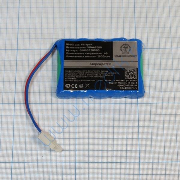 Батарея аккумуляторная 5H-AA2000 для Мегаомметра Е6-24 (МРК)  Вид 1