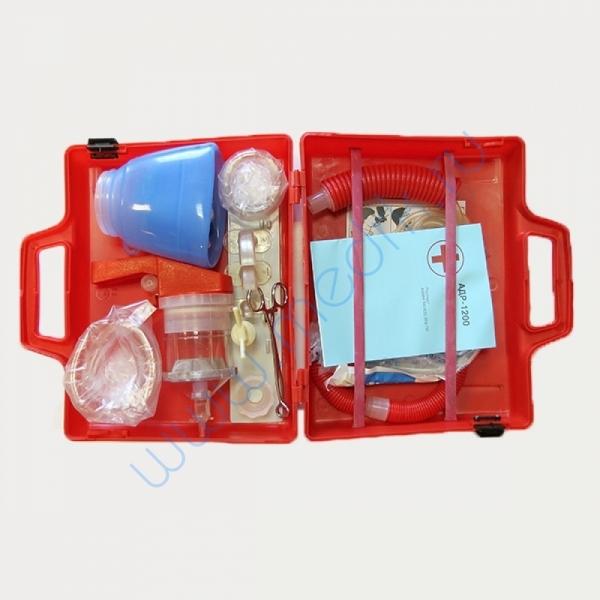 Аппарат дыхательный ручной АДР-1200 (с принадлежностями и отсасывателем)  Вид 2