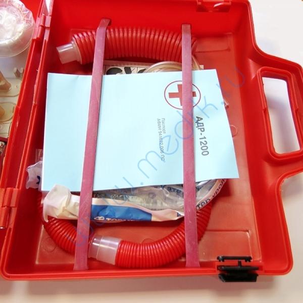 Аппарат дыхательный ручной АДР-1200 (с принадлежностями и отсасывателем)  Вид 3