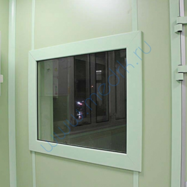 Окно рентгенозащитное 2,0 Pb  Вид 1