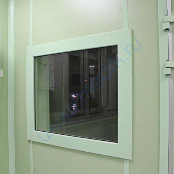 Окно рентгенозащитное 1,7 Pb  Вид 1