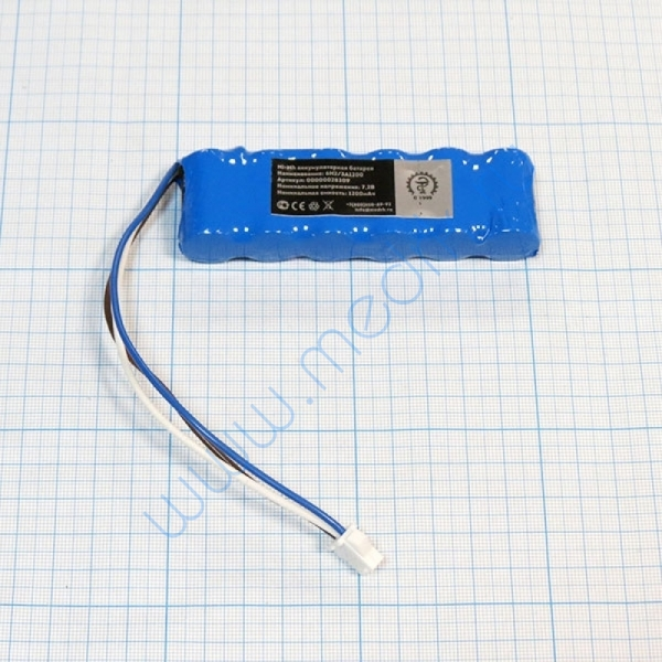 Батарея аккумуляторная 6H-2/3A1200 для Microlab (МРК)  Вид 1