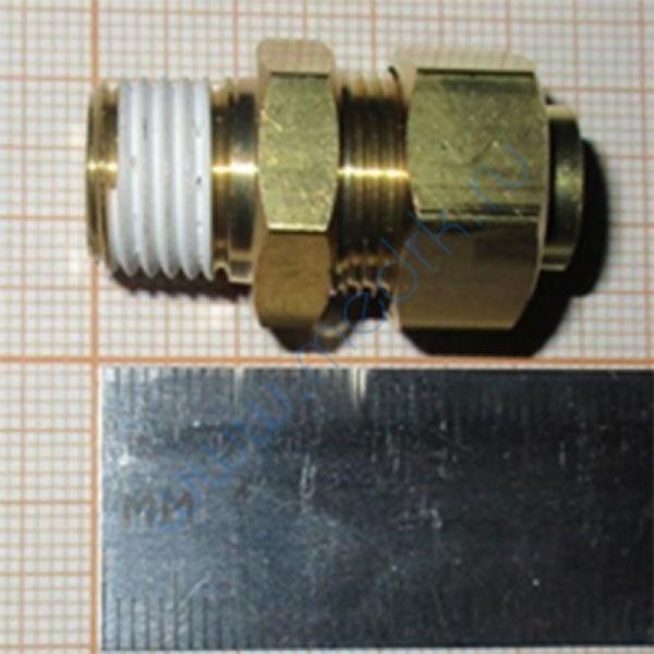 Соединение прямое резьбовое KFH10B-02S  Вид 1