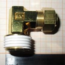 Соединение угловое резьбовое KFL10B-04S