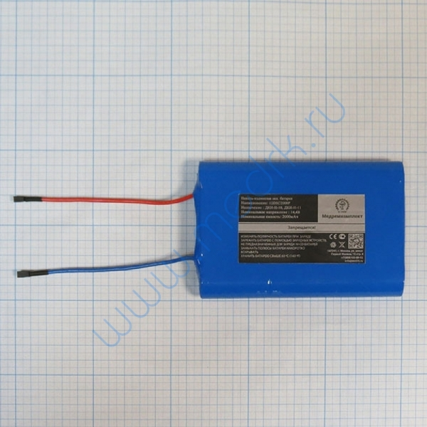 Батарея аккумуляторная 12D-SC2000P для ДКИ-Н-10 (МРК)  Вид 1