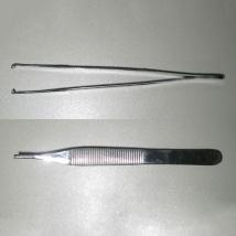 Пинцет хирургический 125 мм Single Use